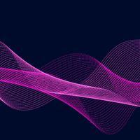 Abstrakt flödesbakgrund vektor
