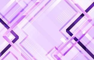 elegantes pastelllila geometrisches Pfeifenglühen vektor