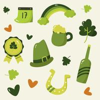 St Patrick's Day Element Vector