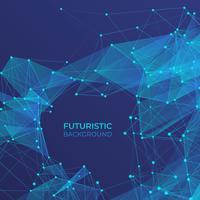 Abstrakter futuristischer Hintergrund vektor