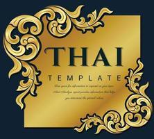 dekorativer Vintage-Rahmen für Einladungen, Rahmen, Menüs, Etiketten und Websites. elegantes Vektorelement im östlichen Stil, Platz für Text. vektor