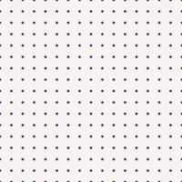 Aufzählungszeichen Textur nahtlose Muster. Dot Grid Millimeterpapier-Vorlage für Notebooks. gepunkteter Hintergrund. druckbares Vektordesign. vektor