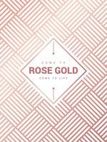 Erstaunlicher Rose Gold Background Vector