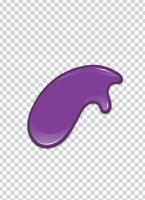 Vektor lila Spritzen mit Transparenz Hintergrund
