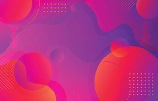 abstrakter Hintergrund mit geometrischem Farbverlauf vektor