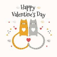 Glad Valentinsdag Vector