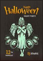Halloween partiaffisch