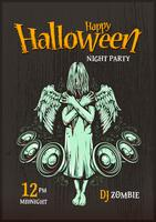 Halloween-Party-Plakat vektor