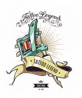 tatuering legend poster