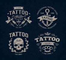 Tattoo Studio Emblem vektor