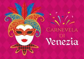carnevale di venezia illustration