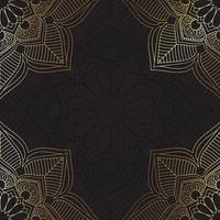 Dekorativer Mandala-Hintergrund vektor