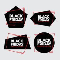 Svart fredagsförsäljning vektor illustration