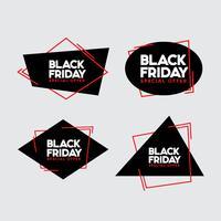 Black Friday-Verkaufsvektorabbildung