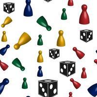 Checkers nahtloses Muster perfekt für Hintergrund oder Tapete vektor