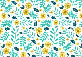 Blumen-Hintergrund-Vektor-Illustration vektor