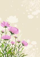 Frühlings-Blumen-Hintergrund vektor