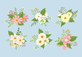 Blume Clipart eingestellt vektor