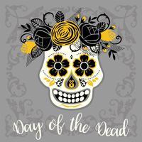 Dia de los muertos. Tag der Toten. Vektor Gestaltungselement.