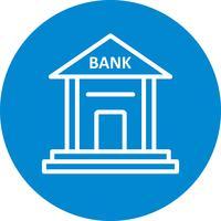 Bank-Vektor-Symbol vektor