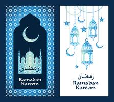 Ramadan Kareem. Vektor-Illustration.