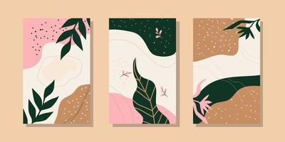 abstrakte trendige universelle künstlerische Hintergrundvorlagen. gut für Cover, Einladung, Banner, Plakat, Broschüre, Poster, Karte, Flyer und andere. vektor