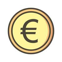 Euro-Vektor-Symbol vektor