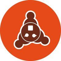Teamarbeit-Vektor-Symbol