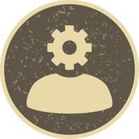 Verwaltungs-Vektor-Symbol
