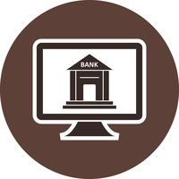 Internet-Banking-Vektor-Symbol vektor