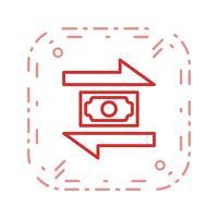 Transaktionsvektor-Symbol