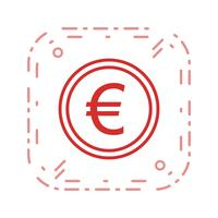 euro vektor ikon