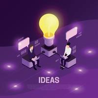 Geschäftsstrategie-Konzept-Vektor-Illustration vektor