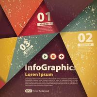 Liste Vektor Infografik