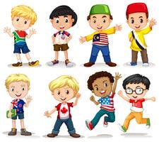Sats av internationell pojke