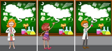 Lehrer für Naturwissenschaften im Unterricht
