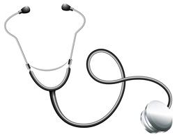 En doktors stetoskop vektor