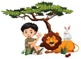 A c und wilde Tiere