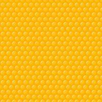 nahtloses Muster der gelben Waben vektor