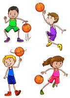 Basketball spieler vektor