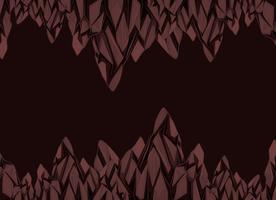 Hintergrunddesign mit braunen Felsen vektor