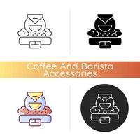 Kaffeeröster-Symbol vektor