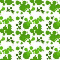 Nahtloses Hintergrunddesign mit grünem Spritzen