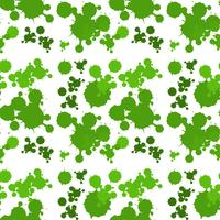 Seamless bakgrundsdesign med grön stänk