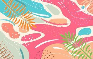 bunter abstrakter pastellhintergrund vektor