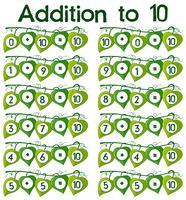 Zusatz zu 10 Poster vektor