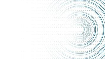 abstrakter Linienhintergrund mit Polygon und geschwungenen Linien vektor