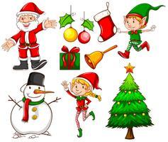 Weihnachtsvorlagen vektor