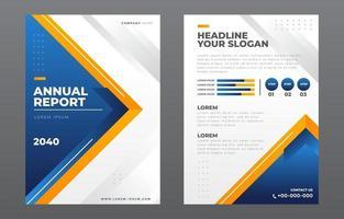 Vorlage für den Jahresbericht vektor