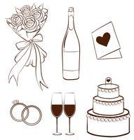 Hochzeit vektor
